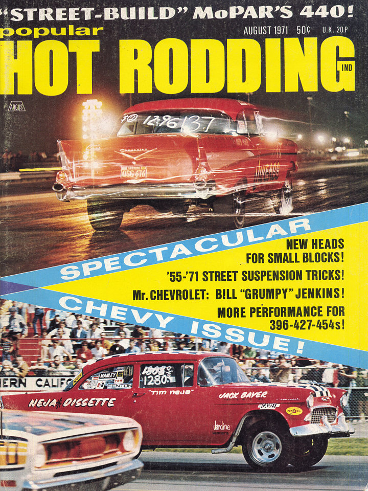 Popular Hot Rodding Vol. 10 No. 8