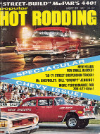 Popular Hot Rodding Vol. 10 No. 8 Magazine
