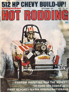 Popular Hot Rodding Vol. 10 No. 9 Magazine
