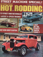 Popular Hot Rodding Vol. 11 No. 10 Magazine