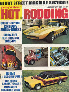 Popular Hot Rodding Vol. 11 No. 2 Magazine