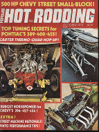 Popular Hot Rodding Vol. 12 No. 10 Magazine