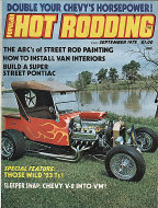 Popular Hot Rodding Vol. 14 No. 9 Magazine