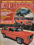 Popular Hot Rodding Vol. 15 No. 6 Magazine