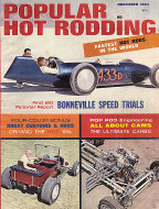 Popular Hot Rodding Vol. 3 No. 11 Magazine