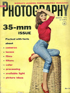 Popular Photography Magazine August 1955 Magazine