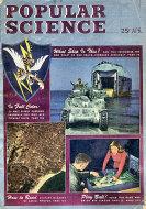 Popular Science April 1944 Magazine