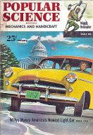 Popular Science Jan 1,1952 Magazine