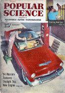 Popular Science Jan 1,1954 Magazine
