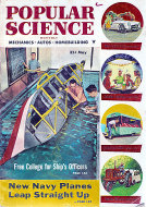 Popular Science May 1,1954 Magazine