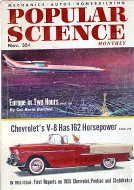 Popular Science Nov 1,1954 Magazine