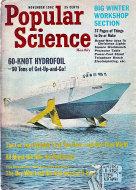 Popular Science Nov 1,1962 Magazine