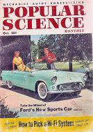 Popular Science Oct 1,1954 Magazine