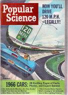 Popular Science Oct 1,1965 Magazine