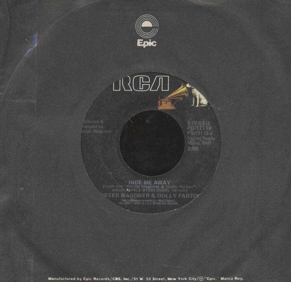 """Porter Wagoner & Dolly Parton Vinyl 7"""" (Used)"""