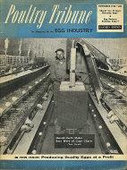 Poultry Tribune Magazine November 1958 Magazine