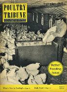Poultry Tribune Magazine September 1951 Magazine