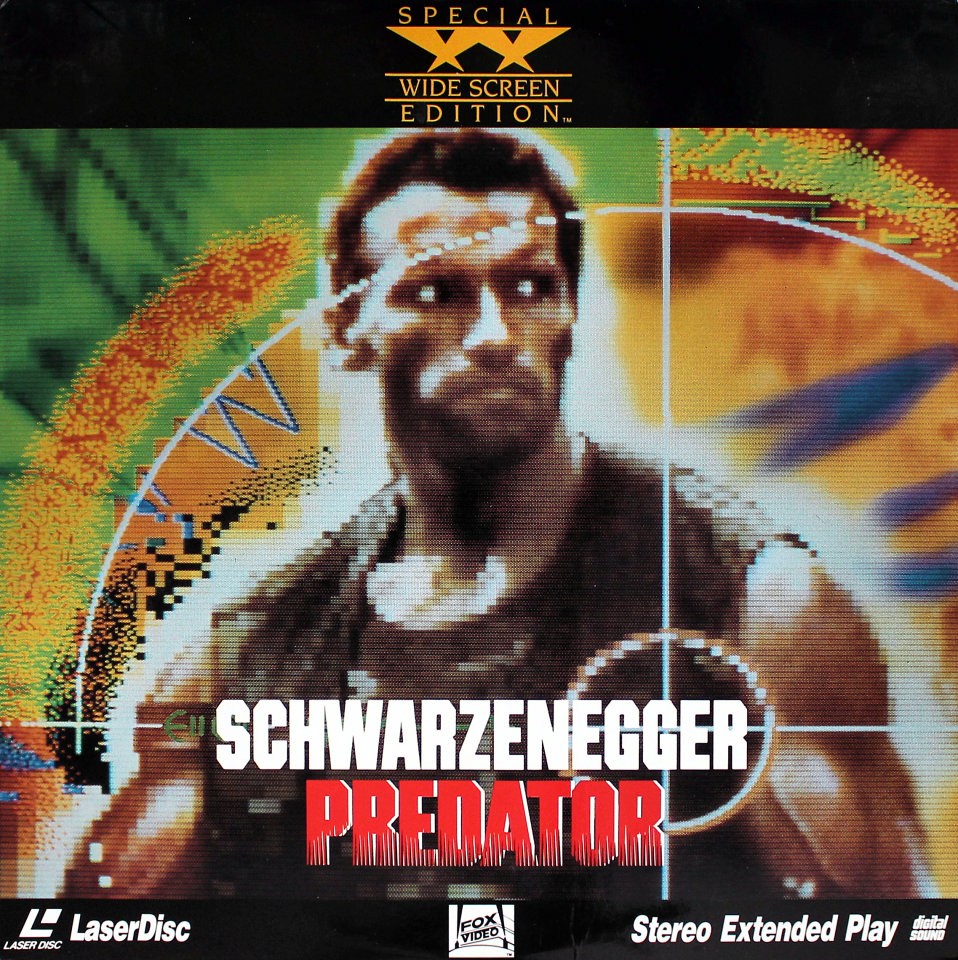 Predator Laserdisc