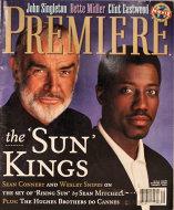 Premiere Magazine August 1, 1993 Magazine