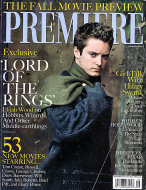 Premiere Magazine September 1, 2001 Magazine