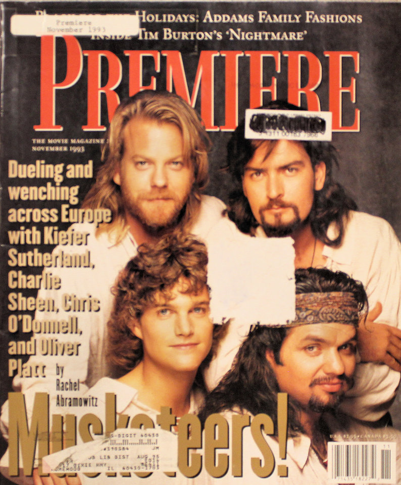 Premiere Nov 1,1993