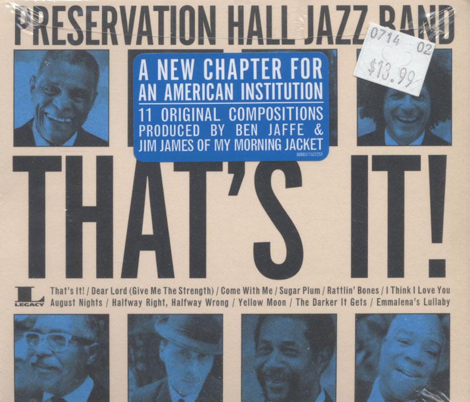 Preservation Hall Jazz Band CD