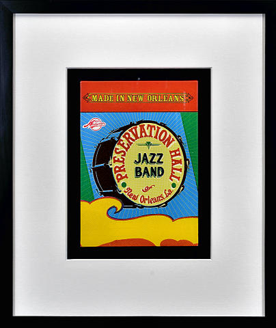 Preservation Hall Jazz Band Framed Box Set
