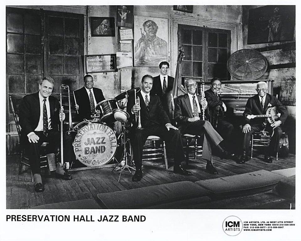 Preservation Hall Jazz Band Promo Print