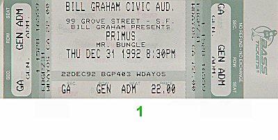 Primus Vintage Ticket