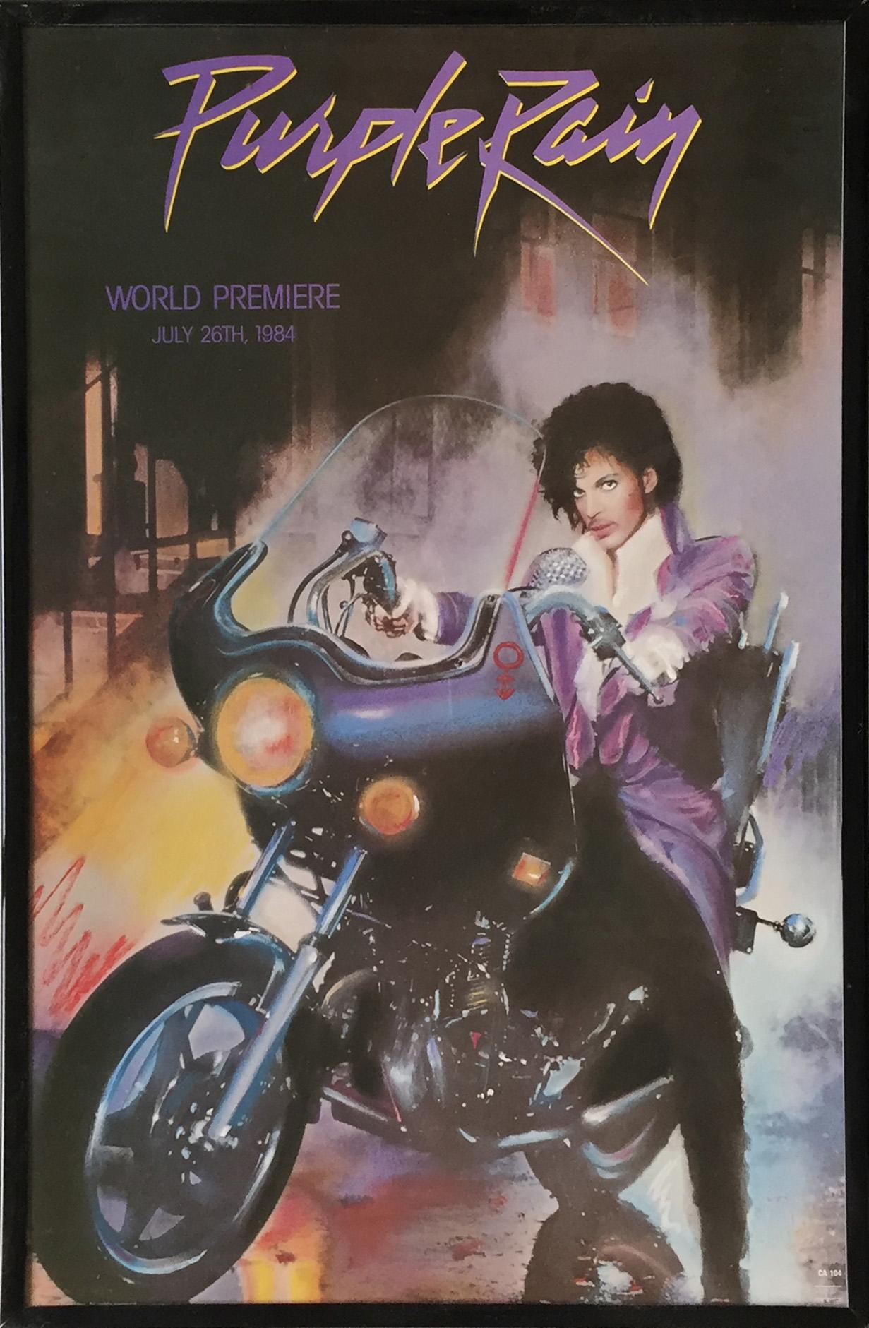 Prince & the Revolution Framed Poster