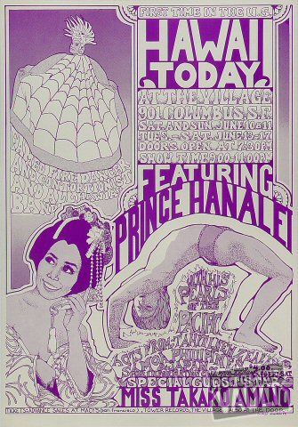 Prince Hanalei Poster