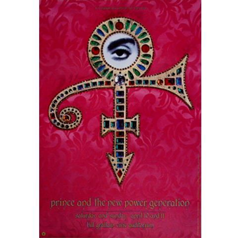 Prince Poster/Ticket Bundle reverse side