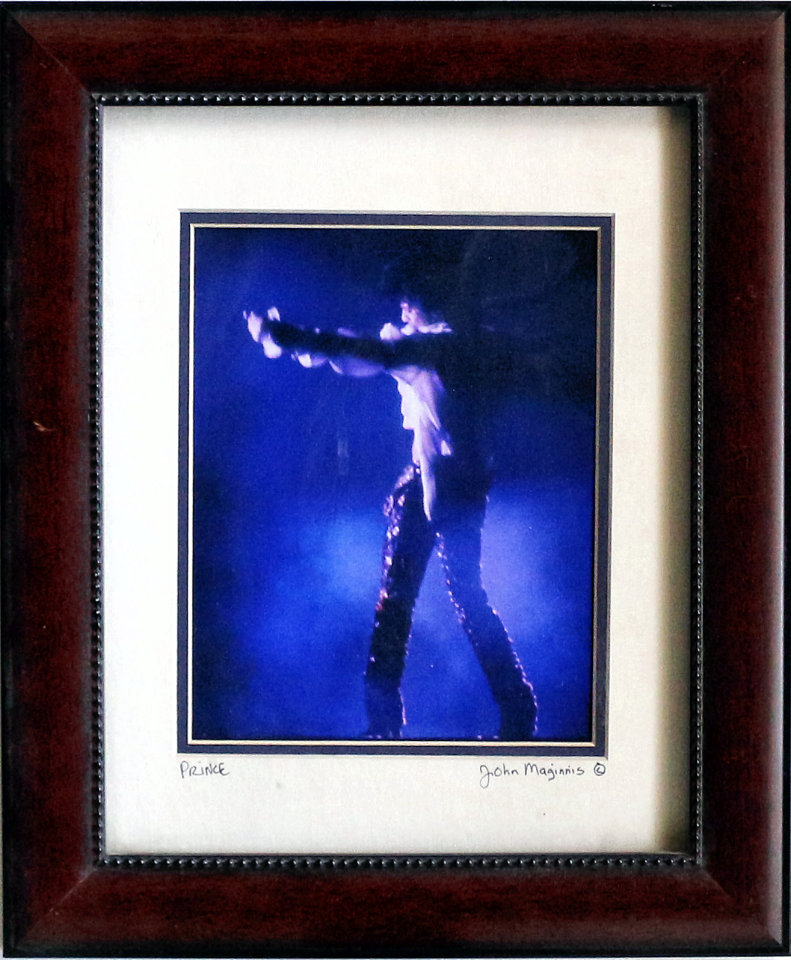 Prince Framed Vintage Print