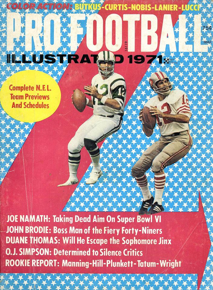 Pro Football Illustrated Vol. 6 No. 1