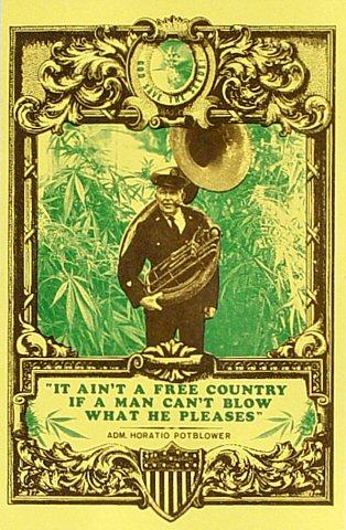 Pro-Potsmoking Postcard