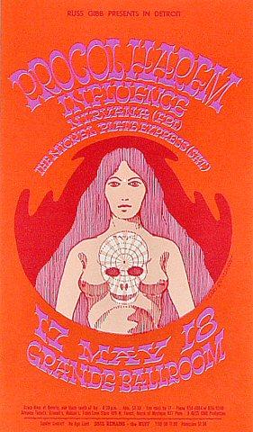 Procol Harum Postcard