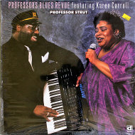"Professor's Blues Revue Featruing Karen Carroll Vinyl 12"" (New)"