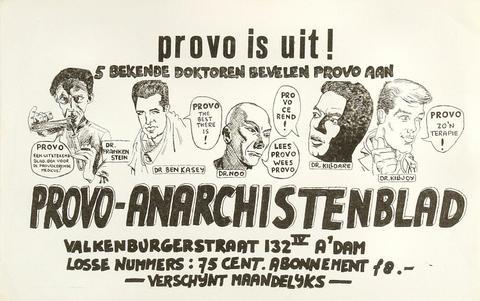 PROVO IS UIT Handbill