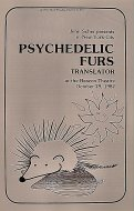 Psychedelic Furs Program