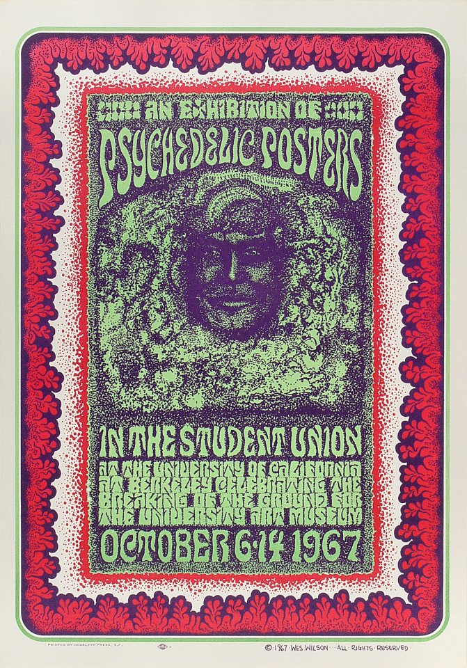 Psychedelic Posters Poster