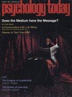 Psychology Today Vol. 2 No. 10 Magazine
