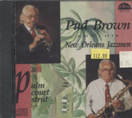 Pud Brown And His New Orleans Jazzmen CD