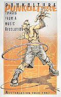 Punkulture: Images From a Music Revolution: Australasian Tour 1997 Poster