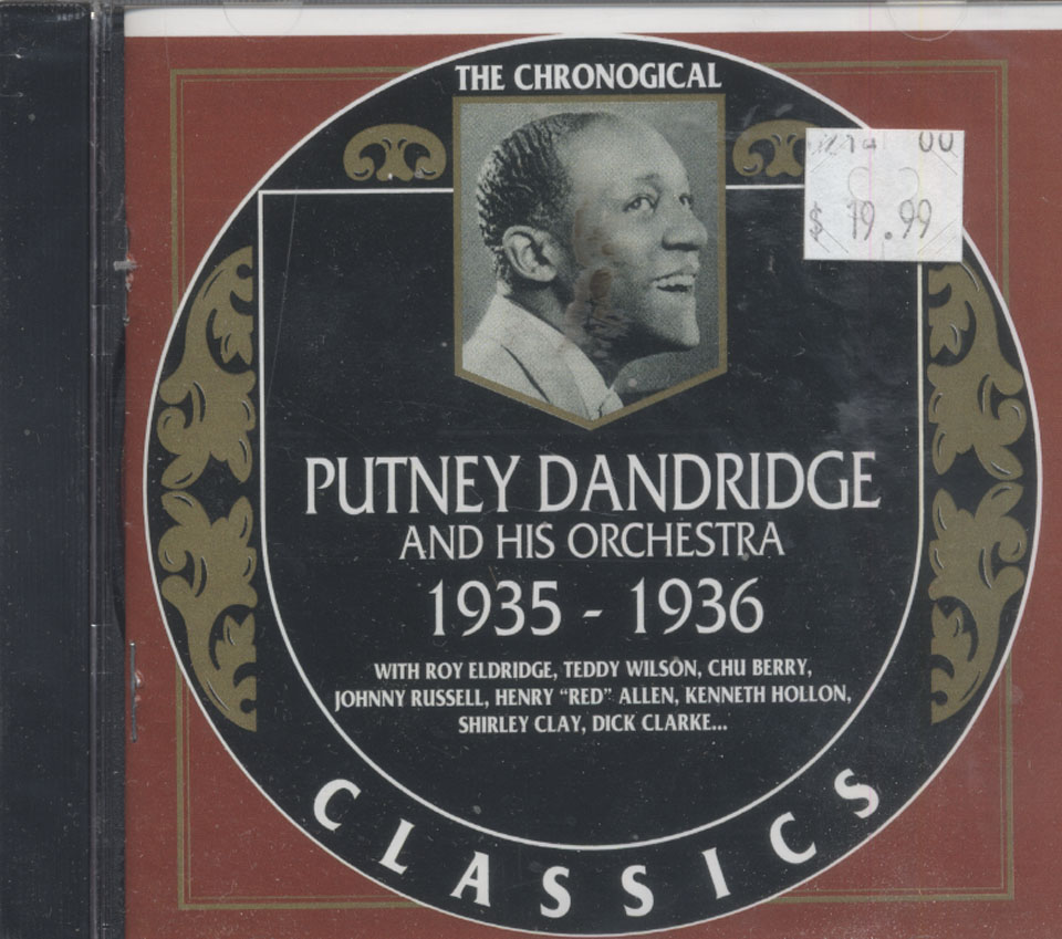 Putney Dandridge and his Orchestra CD