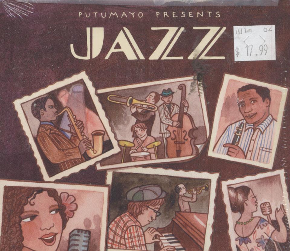 Putumayo Presents Jazz CD