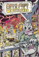 Quack! #4 Comic Book