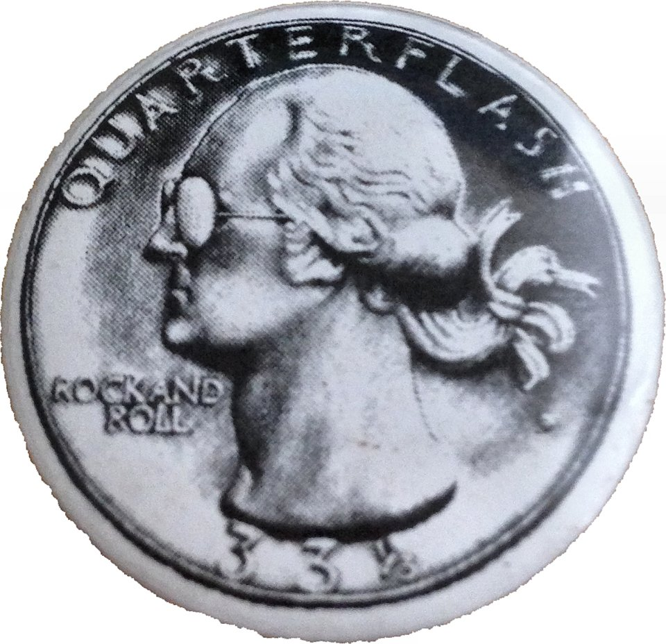 Quarterflash Pin