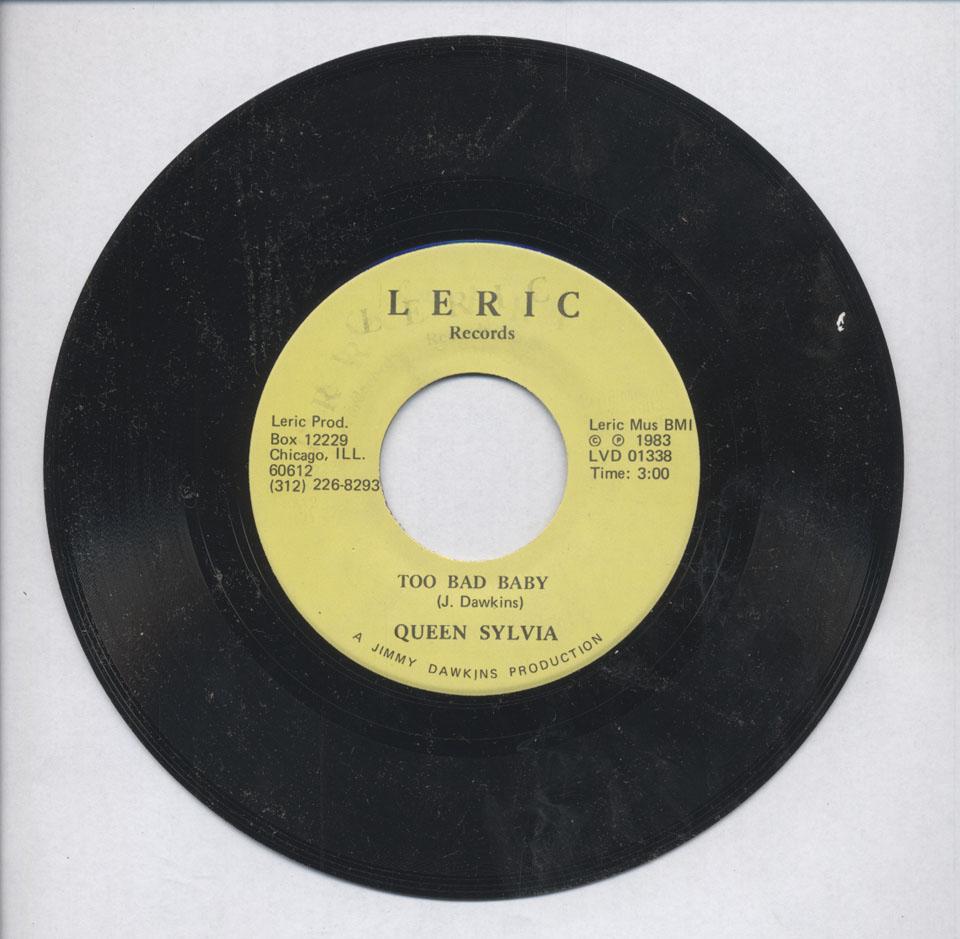 """Queen Sylvia Vinyl 7"""" (Used)"""