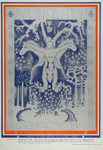 Quicksilver Messenger Service Poster from Avalon Ballroom ... Quicksilver Messenger Service Poster