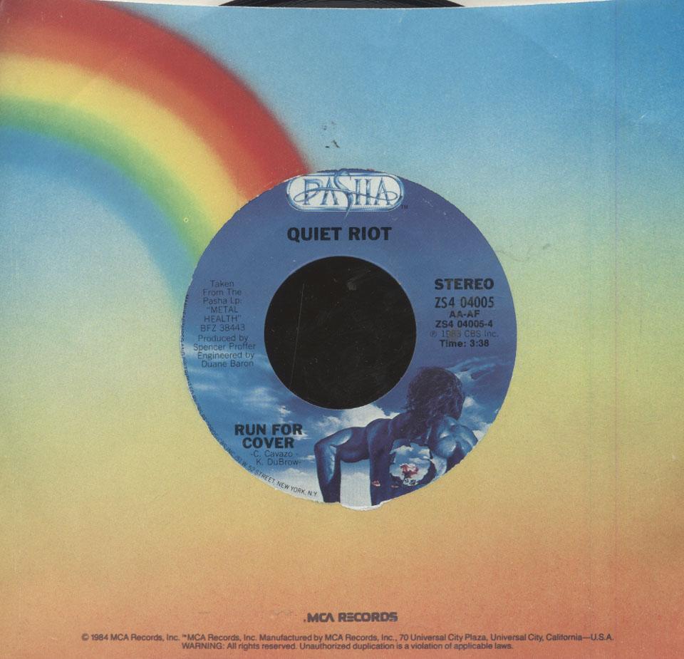 """Quiet Riot Vinyl 7"""" (Used)"""